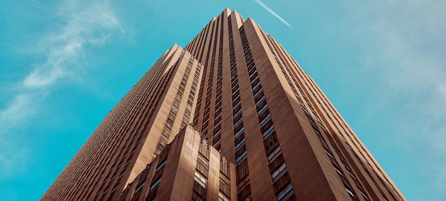 City building skyscrapper