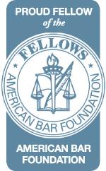 Richard D Williamson The Fellows of the American Bar Foundation badge
